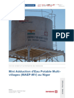 Article Mini Adduction DEau Potable Multi Villages Swissaid Niger 2016