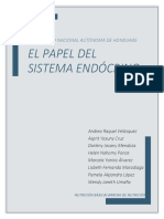Papel del sistema endócrino