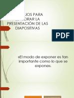 Uso de Las Diapositivas - Copia