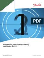 Alternativas al sustituir R22 en aire acondicionado y refrigeración