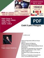 3. COBIT5ParaRiesgos - PabloCaneo