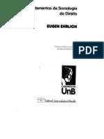 1 EHRLICH, Eugen. Fundamentos da Sociologia do Direito (2).pdf