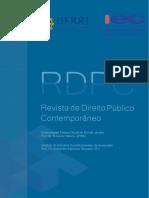 RDPC Artigo Profissionalização e Participação Social