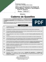 Carderno de Prova -Prof. EBT.80.2015