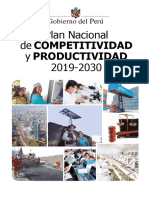 Plan Nacional de Competitividad y Productividad PNCP (1)