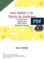 expo max webery la teoria de sistemas
