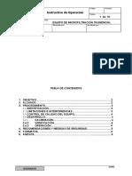 Instructivo de Operación Equipo de Microfiltracion Tangencial
