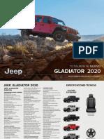 Jeep Gladiator 2020 Ficha Tecnica v02