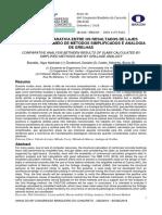 Ibracon 2018-Análise Comparativa Entre Os Resultados de Lajes Calculadas Por Meio de Métodos Simplificados e Analogia de Grelhas
