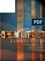 Rammed earth-The relevance of rammed earth in hot arid zone- Kachchh, Gujarat
