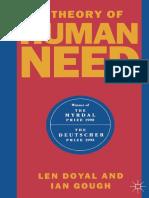 Len Doyal, Ian Gough (Auth.) - A Theory of Human Need-Macmillan Education UK (1991)