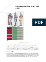 rangos e insignias