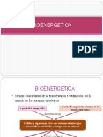 Bioenergética y Oxidaciones Biológicas (1)