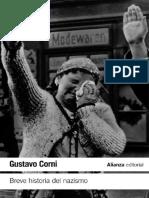 Corni Gustavo. Breve Historia Del Nazismo 1920-1945.