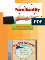 Punctuality....................2