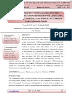Method Development and Validation of Rp-hplc