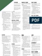 MotW Revised Hunter Reference Sheets
