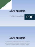 AC ABDOMEN + appen + obstruc