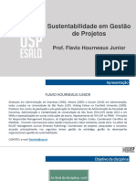 Slides Sustentabilidade Projetos II