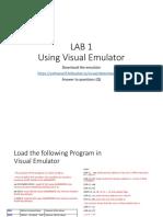 Lab1 Visual Emulator