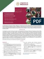 Convocatoria Servicio Social Memoria Mexico Complementaria