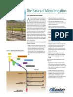 Basics of Micro Irrigation