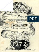 Witchcraft and Sorcery Convention 1972