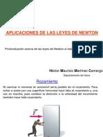 Taller aplicación Ley de Newton