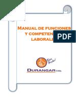 Manual de Funciones y Competencias Laborales