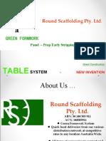 Green formwork
