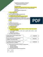 Cuestionario Primero de Bachillerato II Parcial