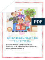 Estrategia Fiesta de La Lectura