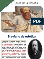 Los Origenes de La Filosofía Pitagoras y La Estética Matemática