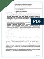 Guia Salud Pública Orientar Guia 1.