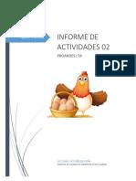 Informe de Actividades 01
