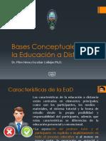 Bases Conceptuales de La EaD