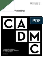 CA Dmc 2013 Proceedings