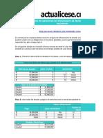 Calculo de refinanciación