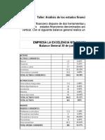 EJEMPLO ANALISIS FINANCIERO