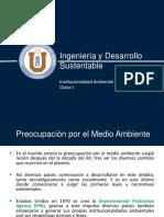 20192903_ingenieria y Desarrollo Sustentable_clase Ii_ Institucionalidad Ambiental Chilena i