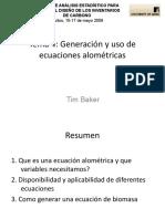 generacion de ecuaciones alometricas