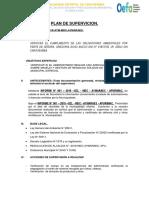Modelo Plan de Supervisión Municipalidad Oefa