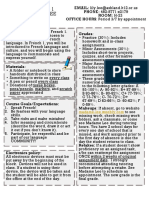 copy of french 1 syllabus final