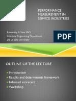 Performance Measurement Dlsu