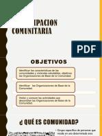 PARTICIPACION COMUNITARIA- ENTORNOS SALUDABLES POSTA JLO.pptx