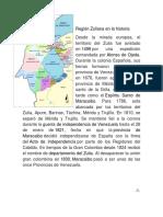 Región Zuliana en La Historia