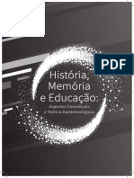 História Memória e Educação - Aspectos Conceituais e Teórico-Epistemológicos