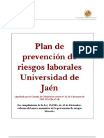 Plan de Prevencion-universidad de Jaen