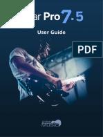GuitarPro7 User Guide