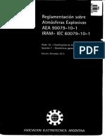 aea 90079-10 -1 atmósferas explosivas